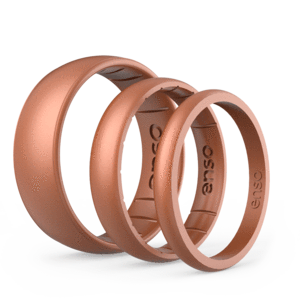 Copper Silicone Rings