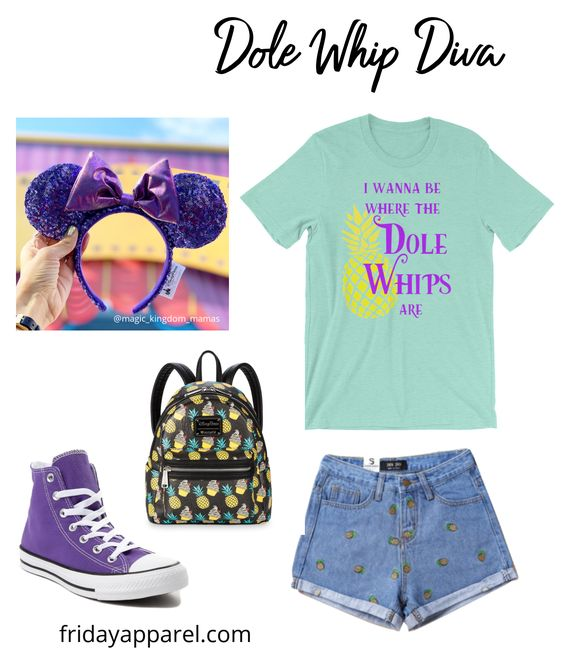 I Wanna Be Where The Dole Whips Are Shirt in Mint