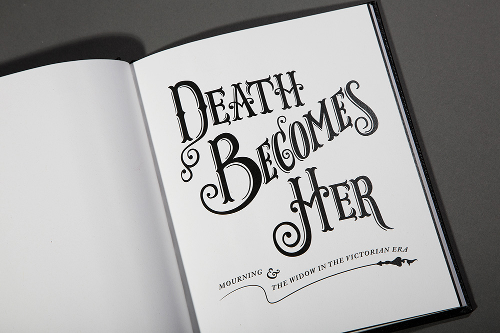 Death Becomes Her  was successfully entered into the prestigious International Society of Typographic Designers (ISTD) student awards.