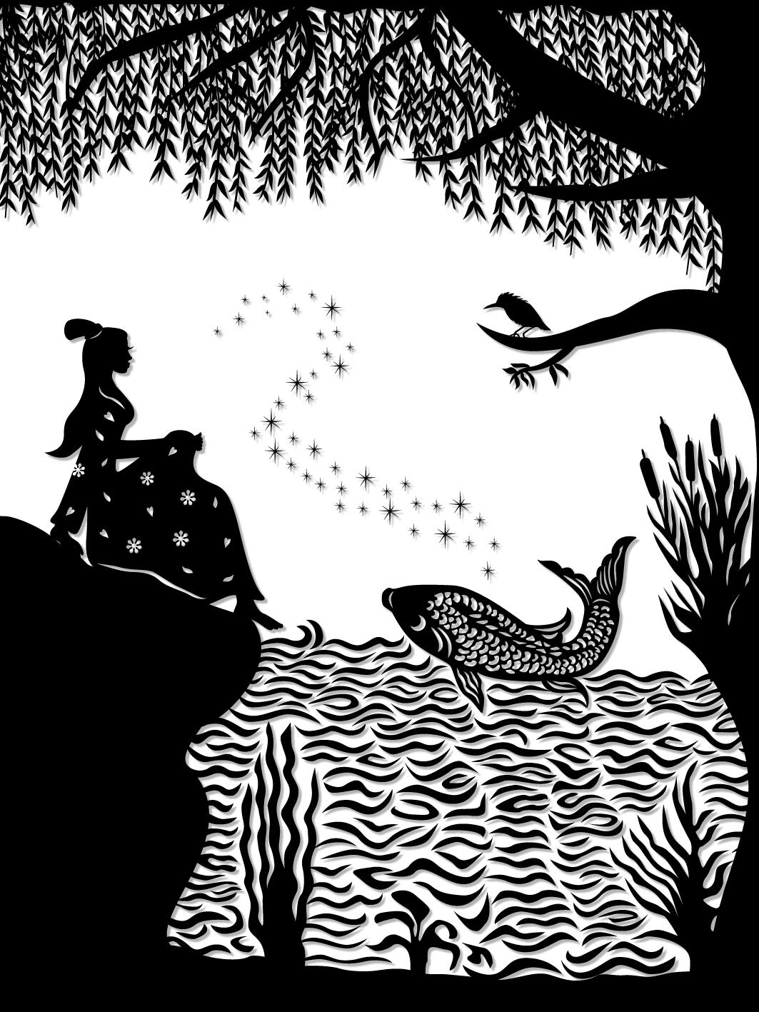 Ye Xian : Ye Xian and the magic golden fish