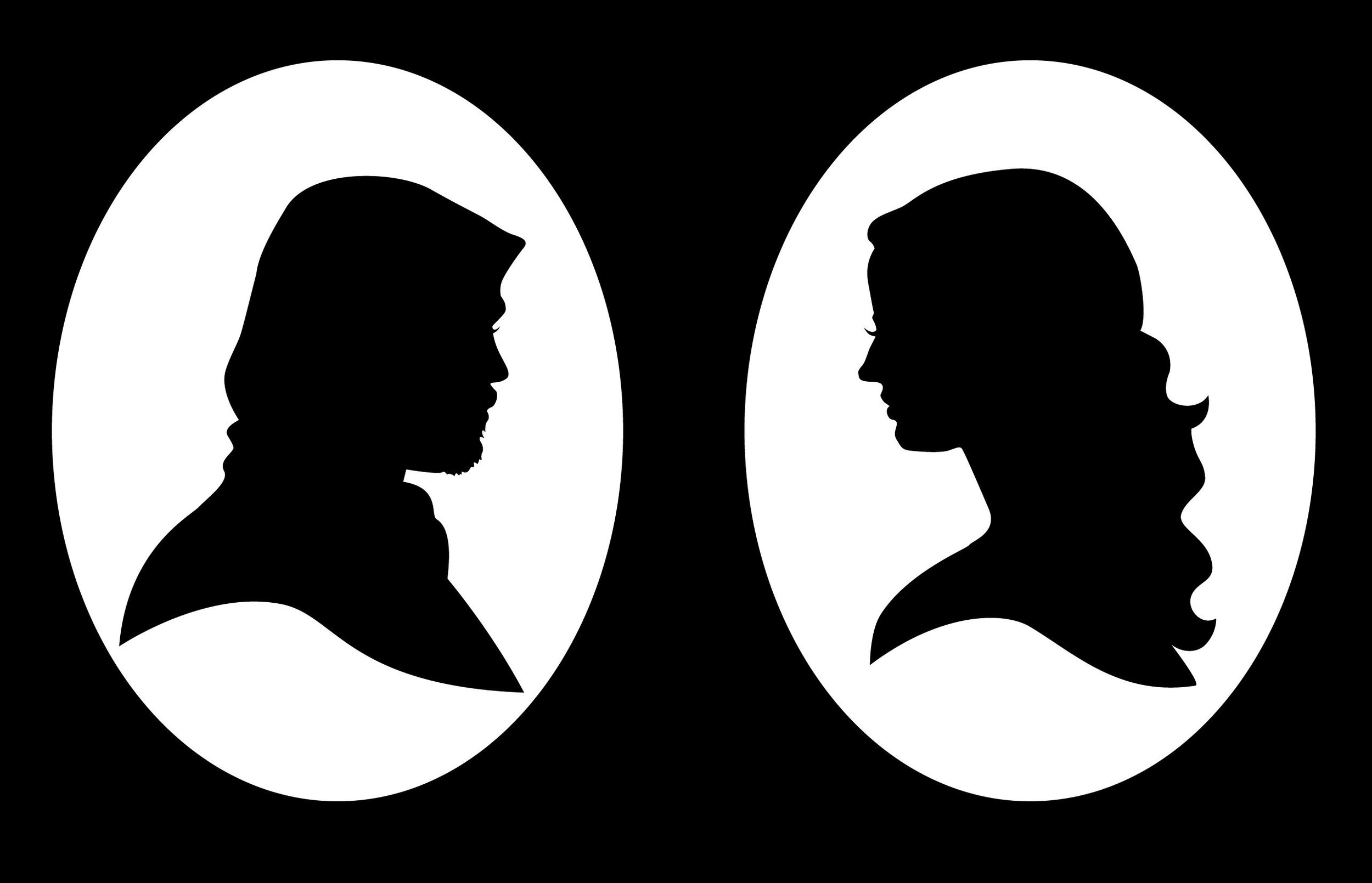 Penny Dreadful  silhouettes: Ethan & Vanessa