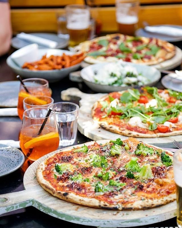 Friday looks like... $16 pizzas at lunch here at The Bath / Base! What a day for it ☀️ 232 The Parade, Adelaide (The Bath) 234 The Parade, Adelaide (Base)