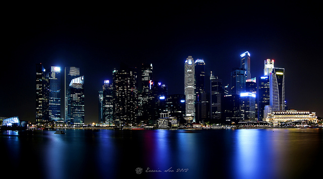 Singapore Skyline by Erwin Soo, via  flickr.com