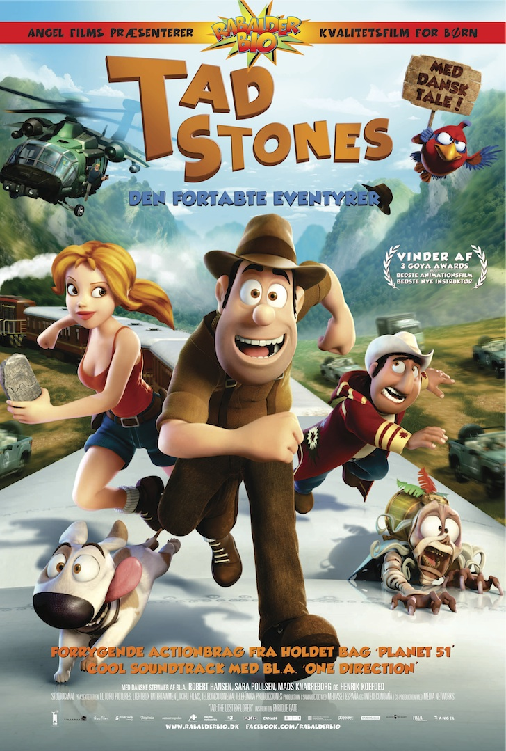 Tad Stones - Den fortabte eventyrer