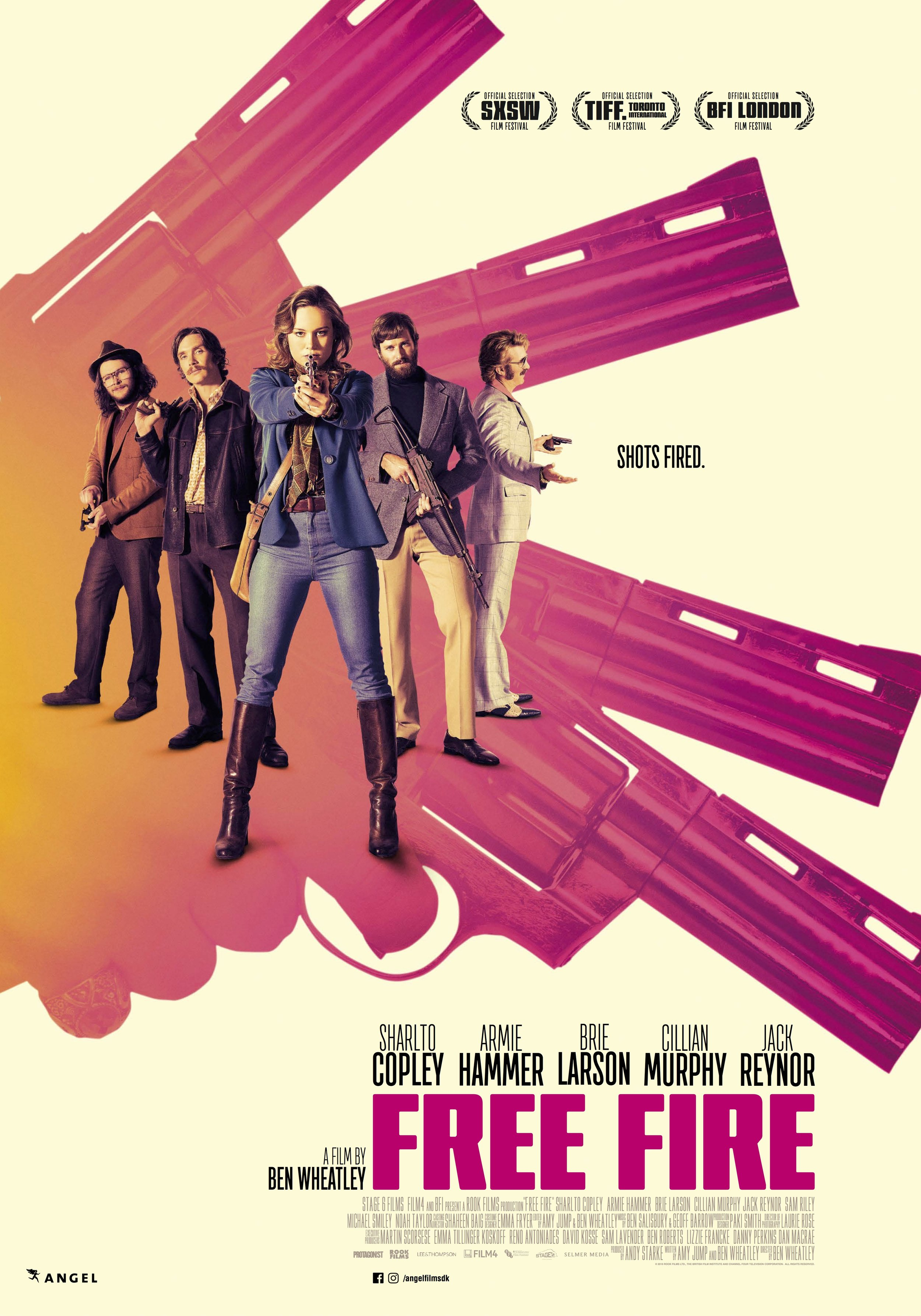 Free Fire Int. Poster