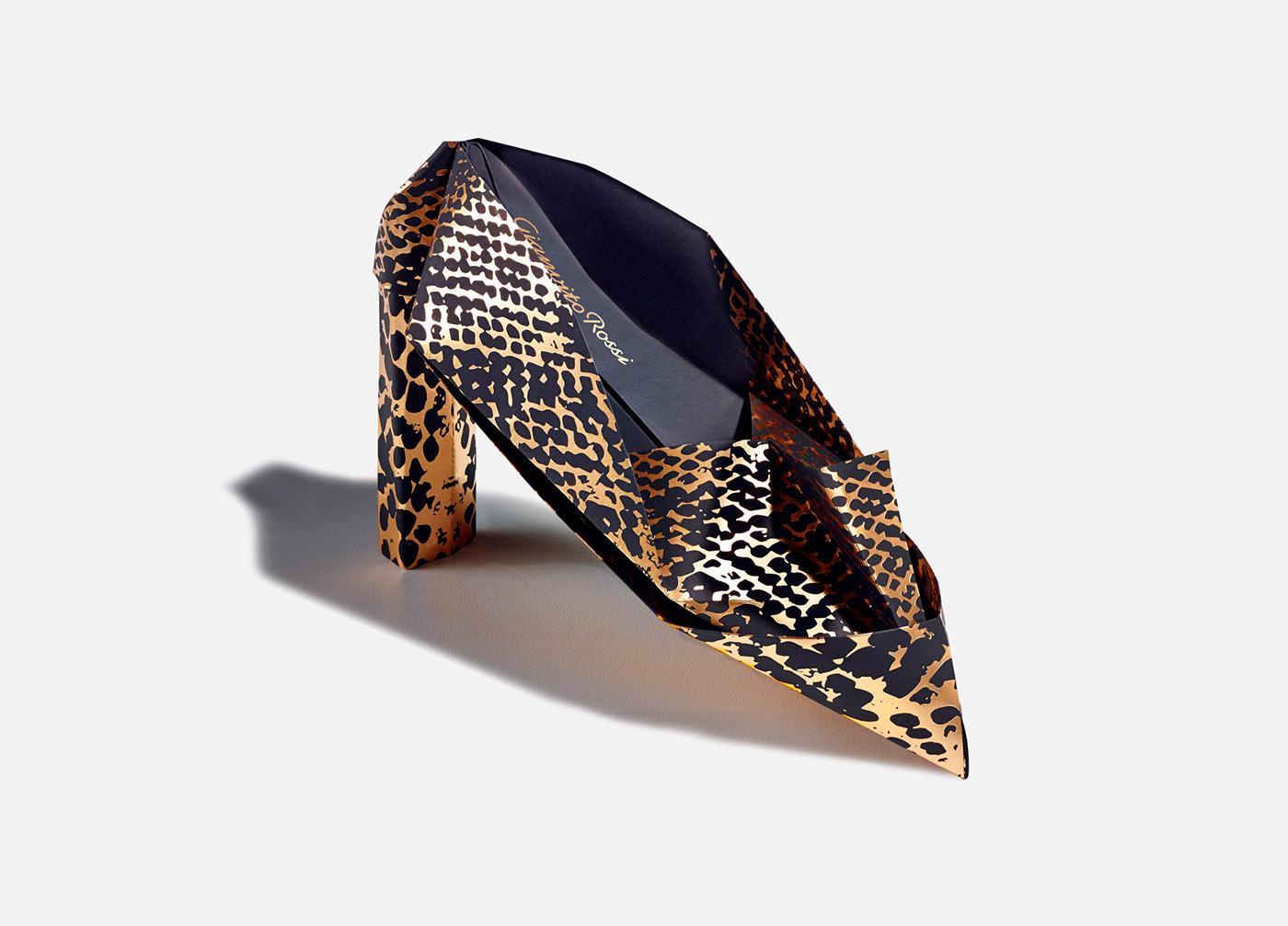 Origami Snake Shoe