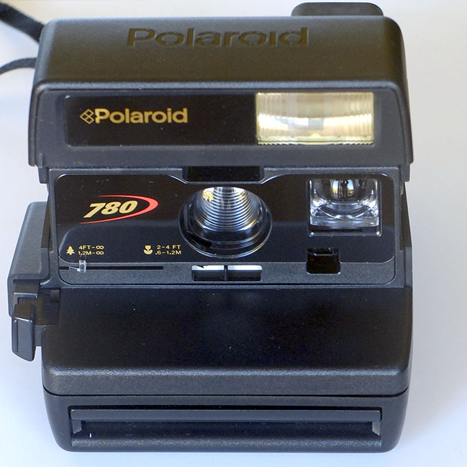 Polaroid 600 front