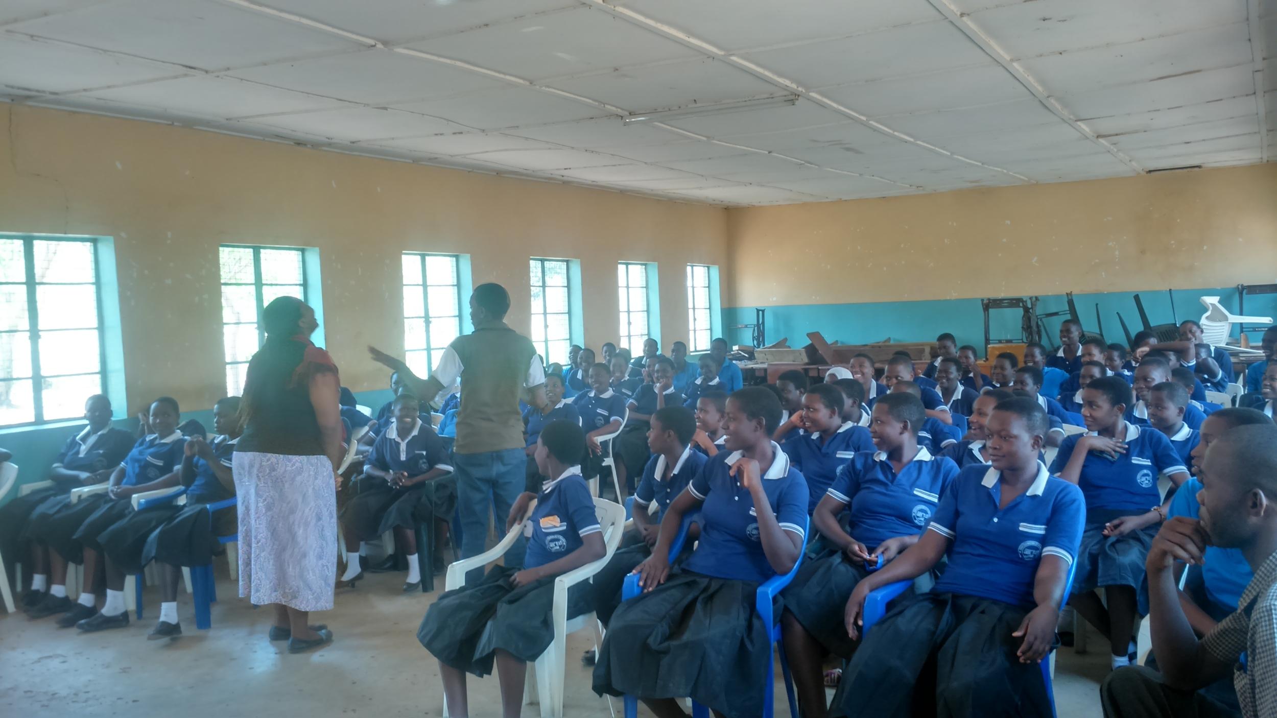 Youth for Change workshop in Tanzania's Shinyanga region