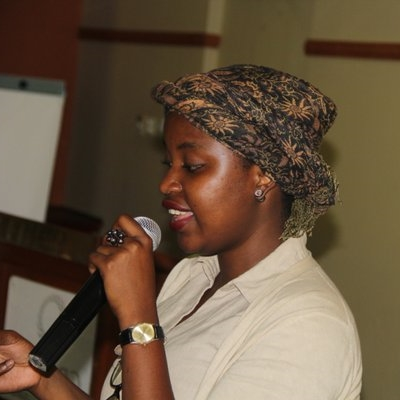 Petra speaking at African Girl Summit side-event