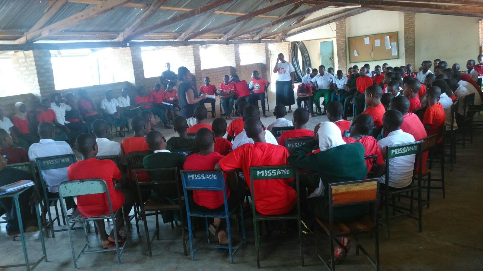 Youth For Change Tanzania conducting outreach in Mara, tanzania