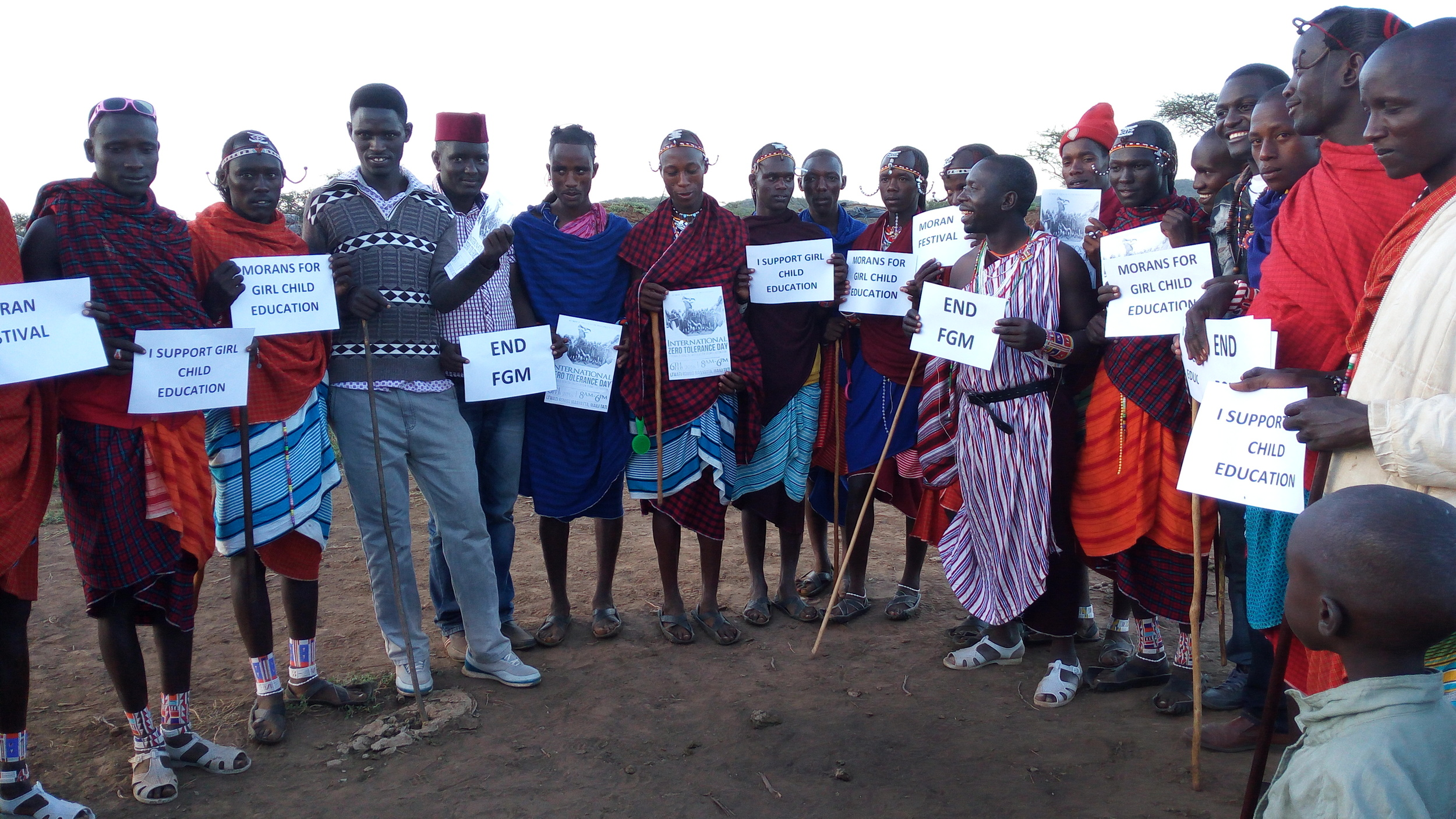 Advocacy work against FGM with pastoralist community in Kenya