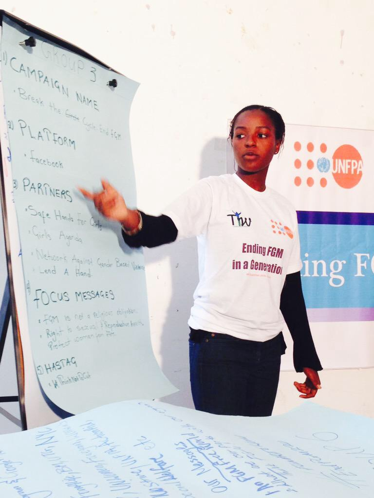 MARIA SAINE, PROGRAMME MANAGER SAFE HANDS FOR GIRLS