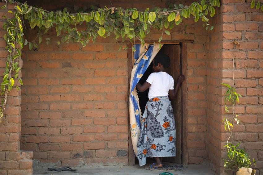 Zambian woman, 20, married at 15 [Credit: Plan International/Vincent Tremeau]