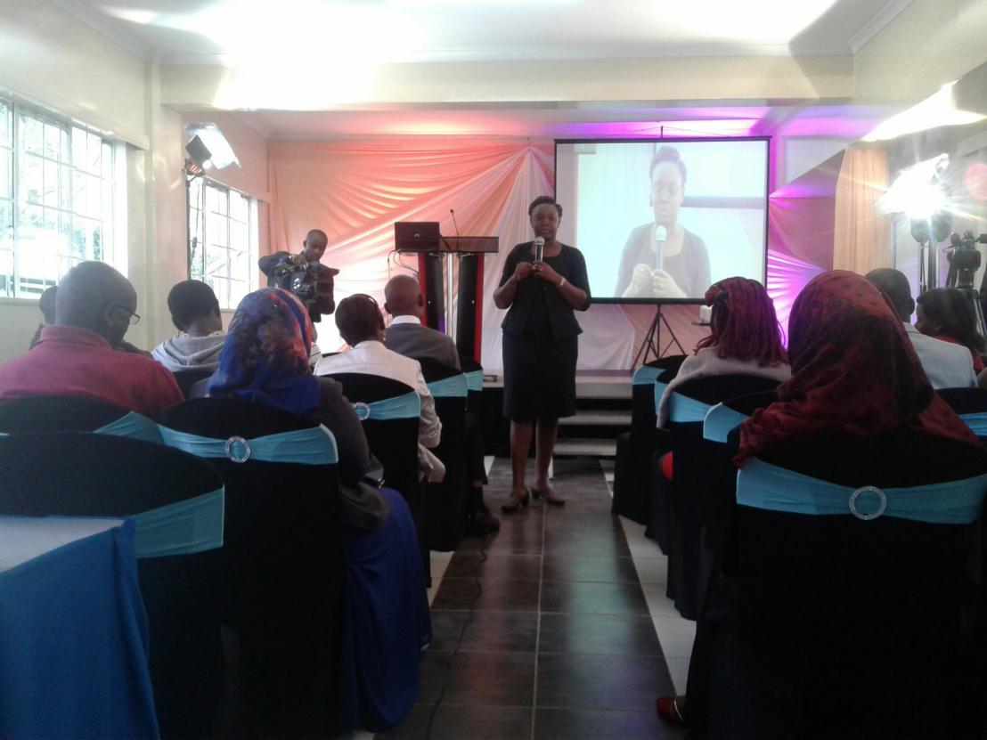 ODPP Christine Nanjala during her speech