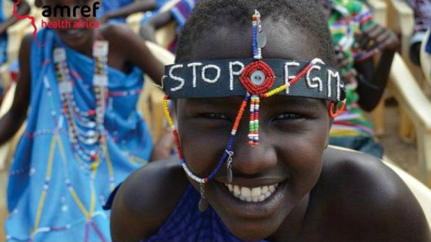 Masaii girl takes part in alternative rite of passage [Photo credit:  AMREF ]