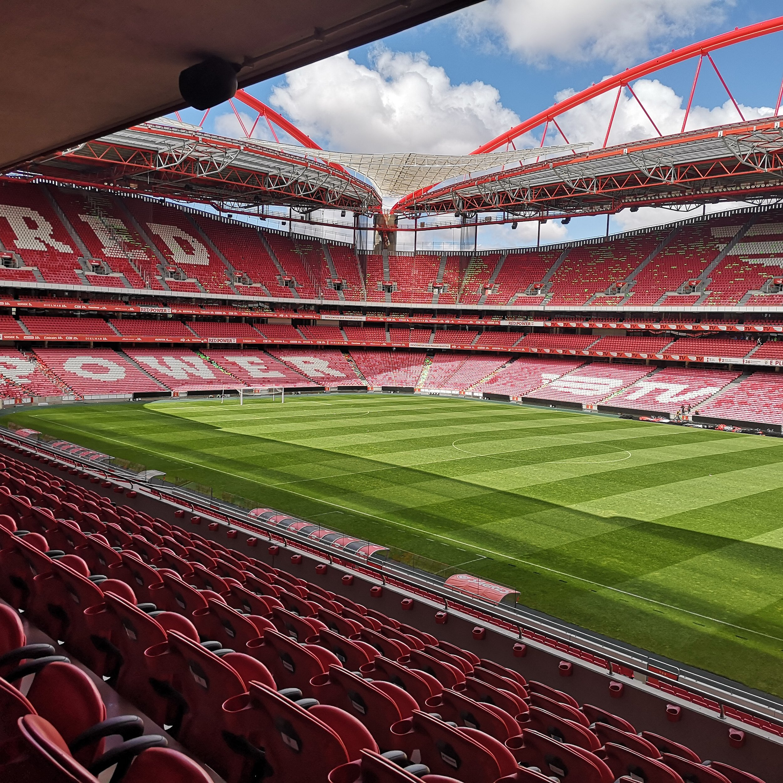 The Estadio da Luz, Lisbon