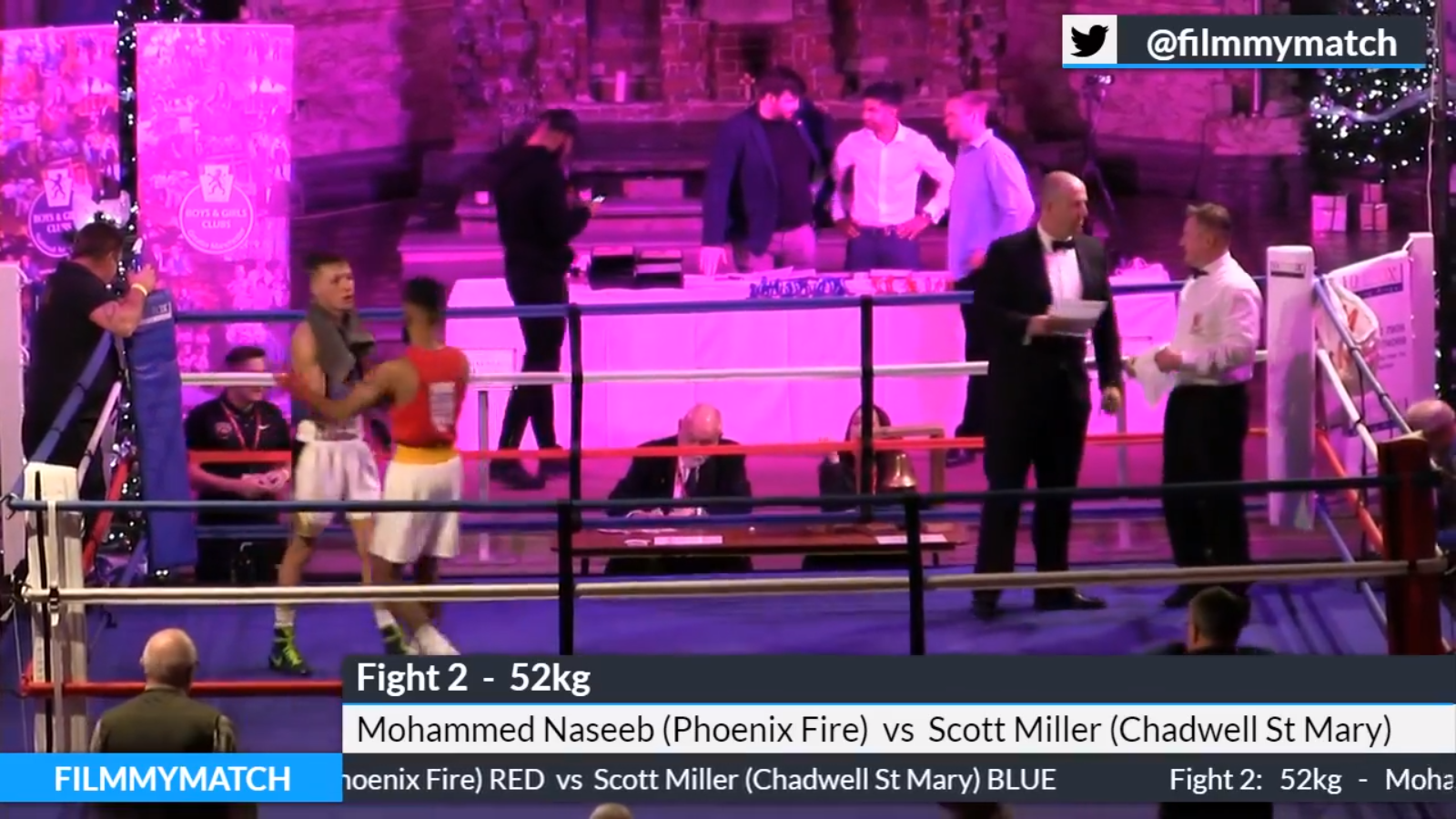 Our live coverage of the Class D National Boxing finals