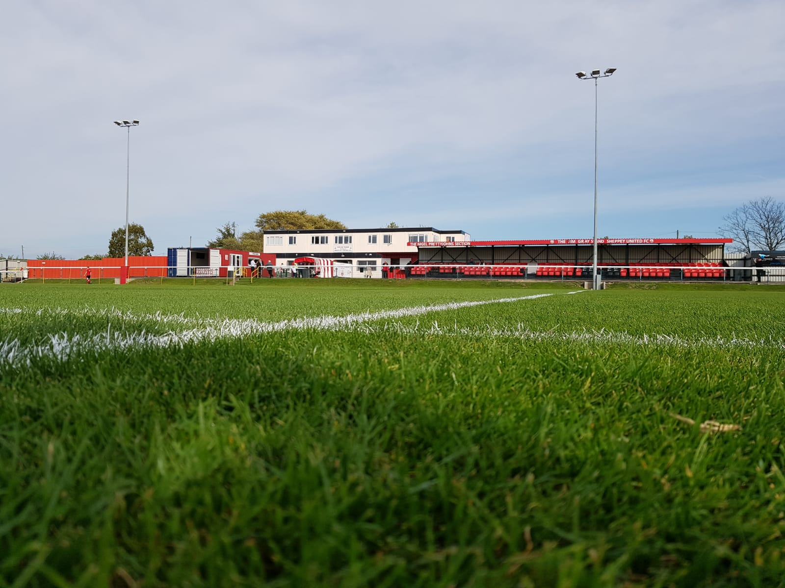 Sheppey's home ground Holm Park