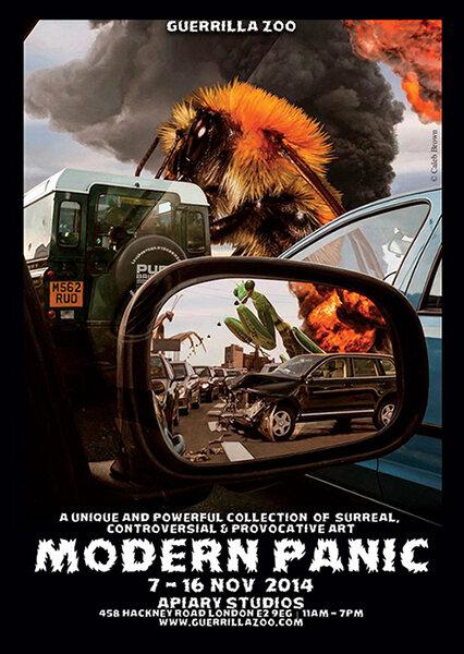 Modern Panic V  7 - 16 NOV. 2014 Apiary Studios, 458 Hackney Road, London, England