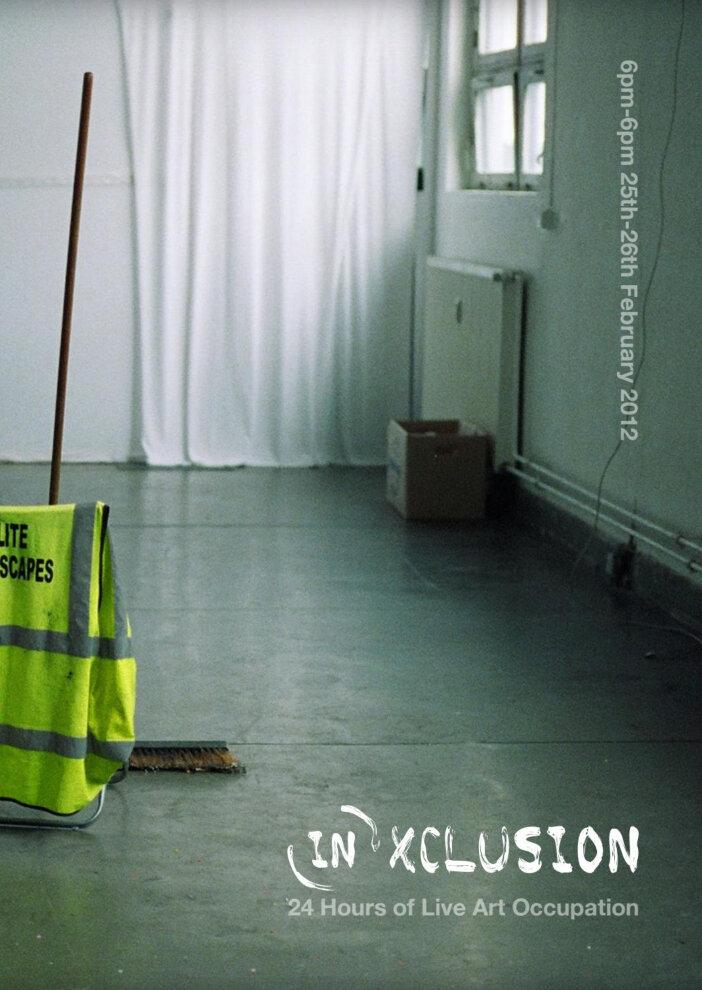 (In)Xclusion  25 - 26 FEB. 2012  Patrick Studios, Saint Mary's Lane, Mabgate, Leeds, England  — View programme