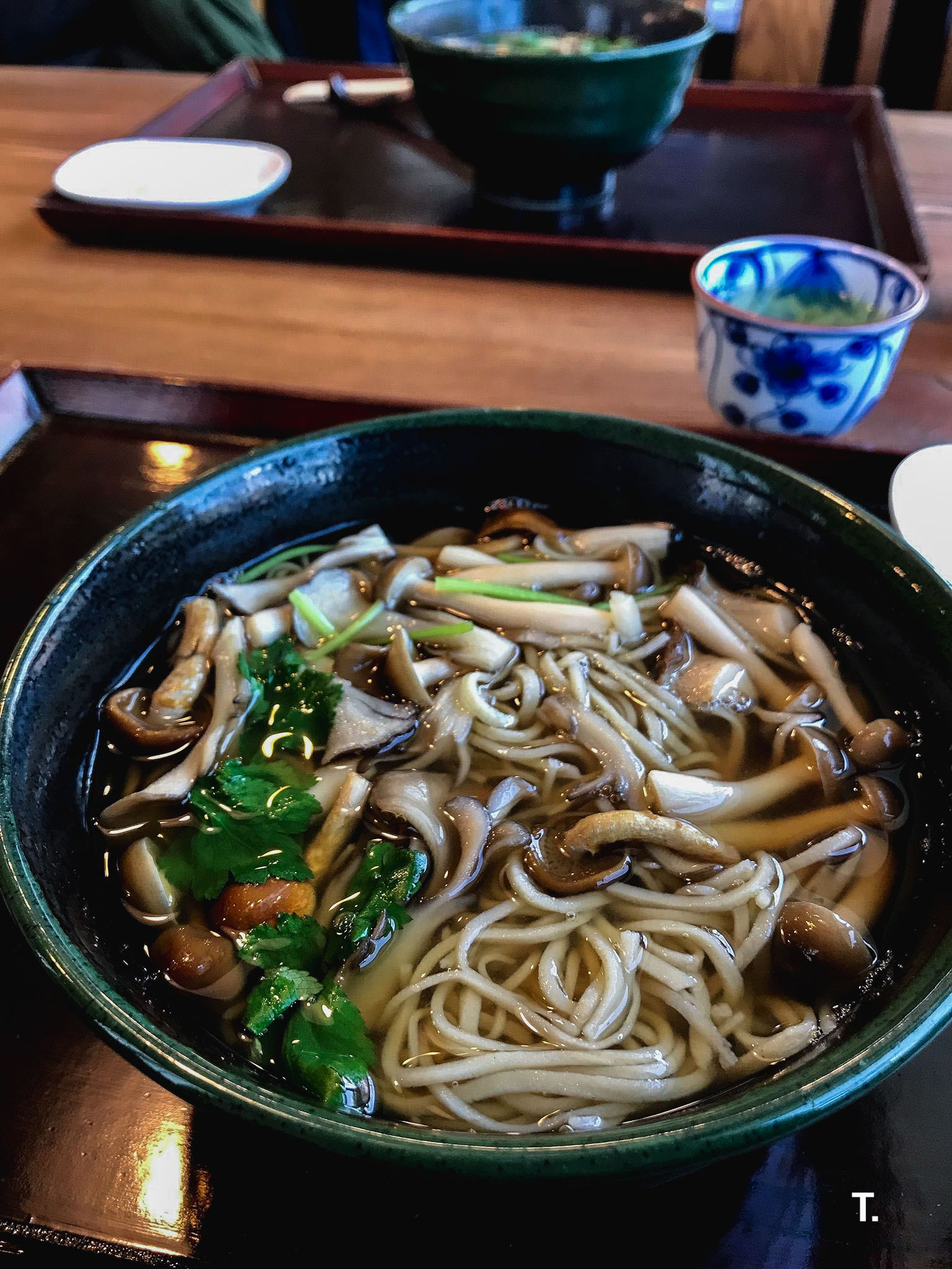 Matsumoto is known for its soba noodles so we stopped by a soba noodle house.
