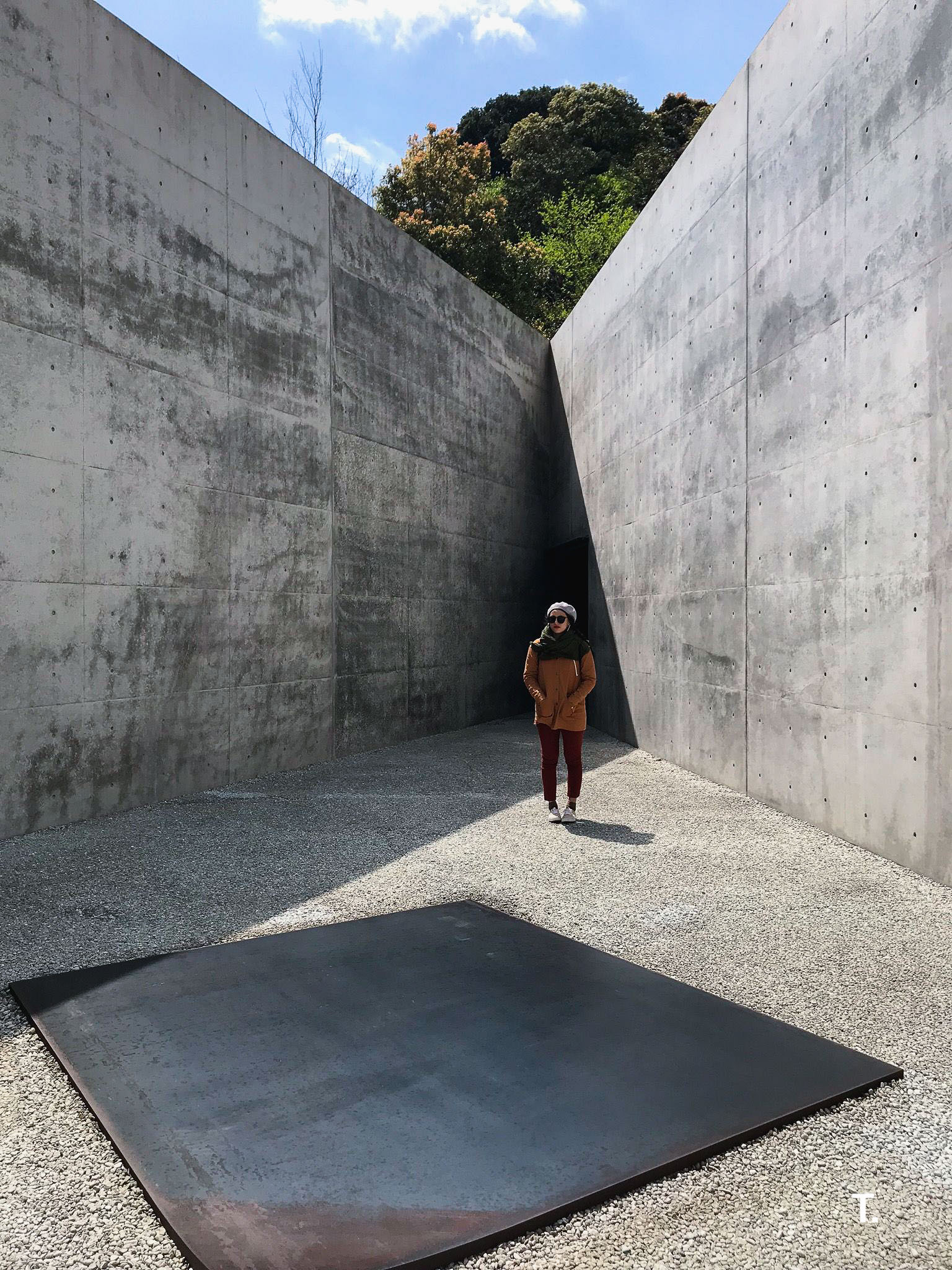 Lee Ufan Museum on Naoshima