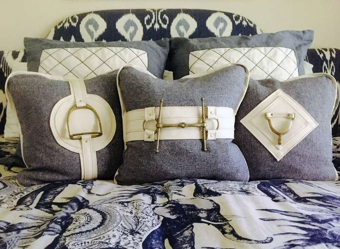 - Pillows for any equine styled decor.