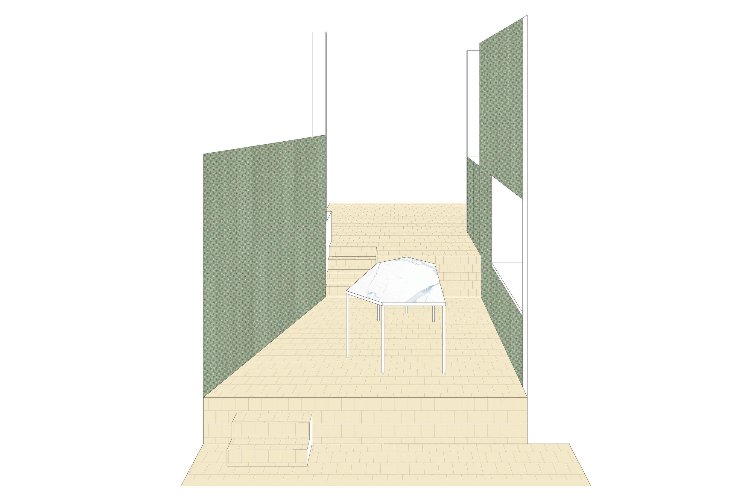 Extension and reorganisation of a split-level family house  photos Stijn Bollaert (2016, Kortrijk)
