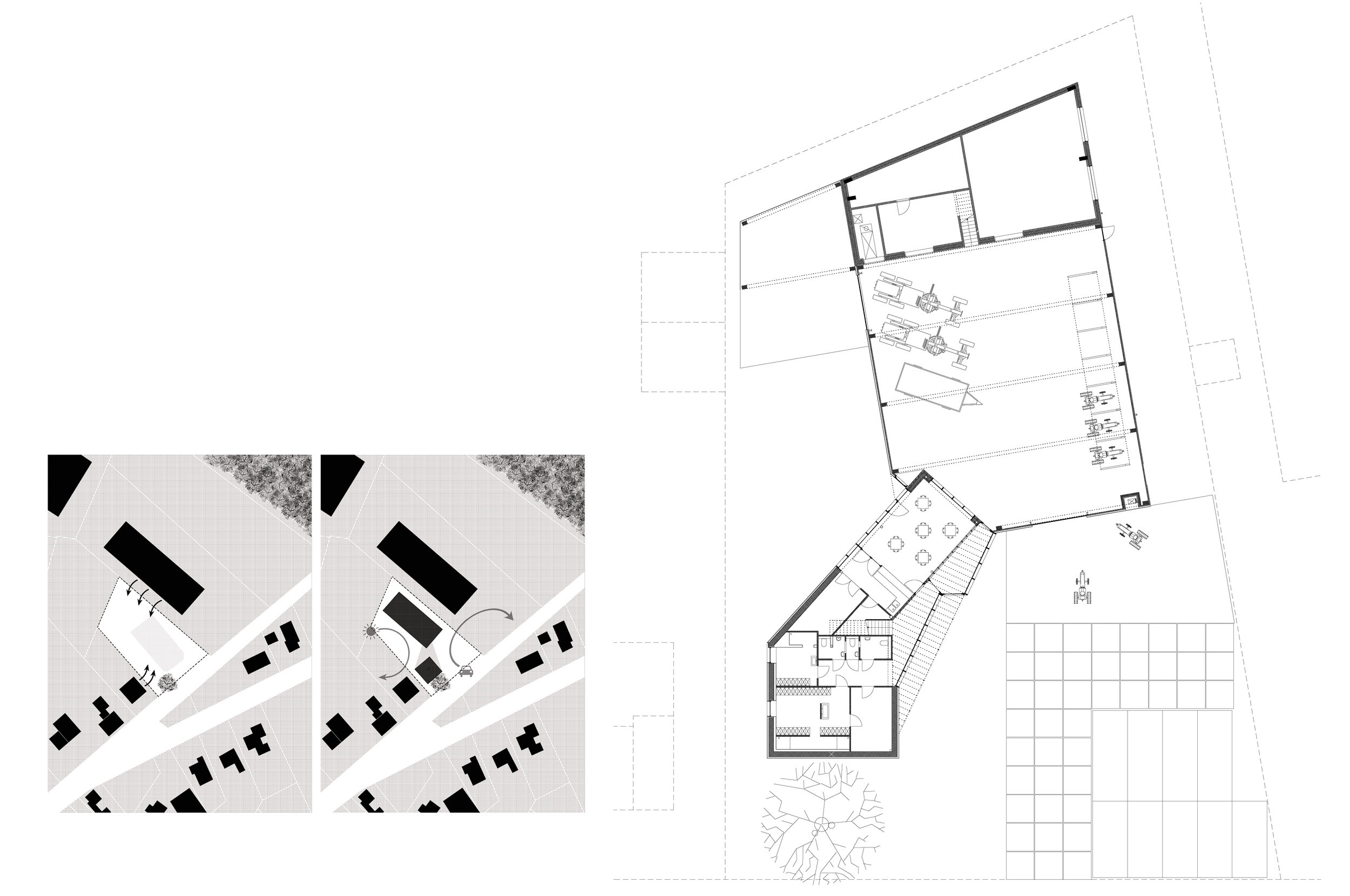 """Offices and shed for the Agency for nature and forests of the Flemish Government. The office is close to energy neutral, the added warmth is gained from wood-leftovers from the forest  photos Michiel De Cleene (2017, Hechtel-Eksel)           96              Normal   0           false   false   false     EN-GB   X-NONE   X-NONE                                                                                                                                                                                                                                                                                                                                                                                                                                                                                                                                                                                                                                                                                                                                                                                                                                                                                     /* Style Definitions */ table.MsoNormalTable {mso-style-name:""""Table Normal""""; mso-tstyle-rowband-size:0; mso-tstyle-colband-size:0; mso-style-noshow:yes; mso-style-priority:99; mso-style-parent:""""""""; mso-padding-alt:0cm 5.4pt 0cm 5.4pt; mso-para-margin:0cm; mso-para-margin-bottom:.0001pt; mso-pagination:widow-orphan; font-size:12.0pt; font-family:Calibri; mso-ascii-font-family:Calibri; mso-ascii-theme-font:minor-latin; mso-hansi-font-family:Calibri; mso-hansi-theme-font:minor-latin; mso-fareast-language:EN-US;}"""
