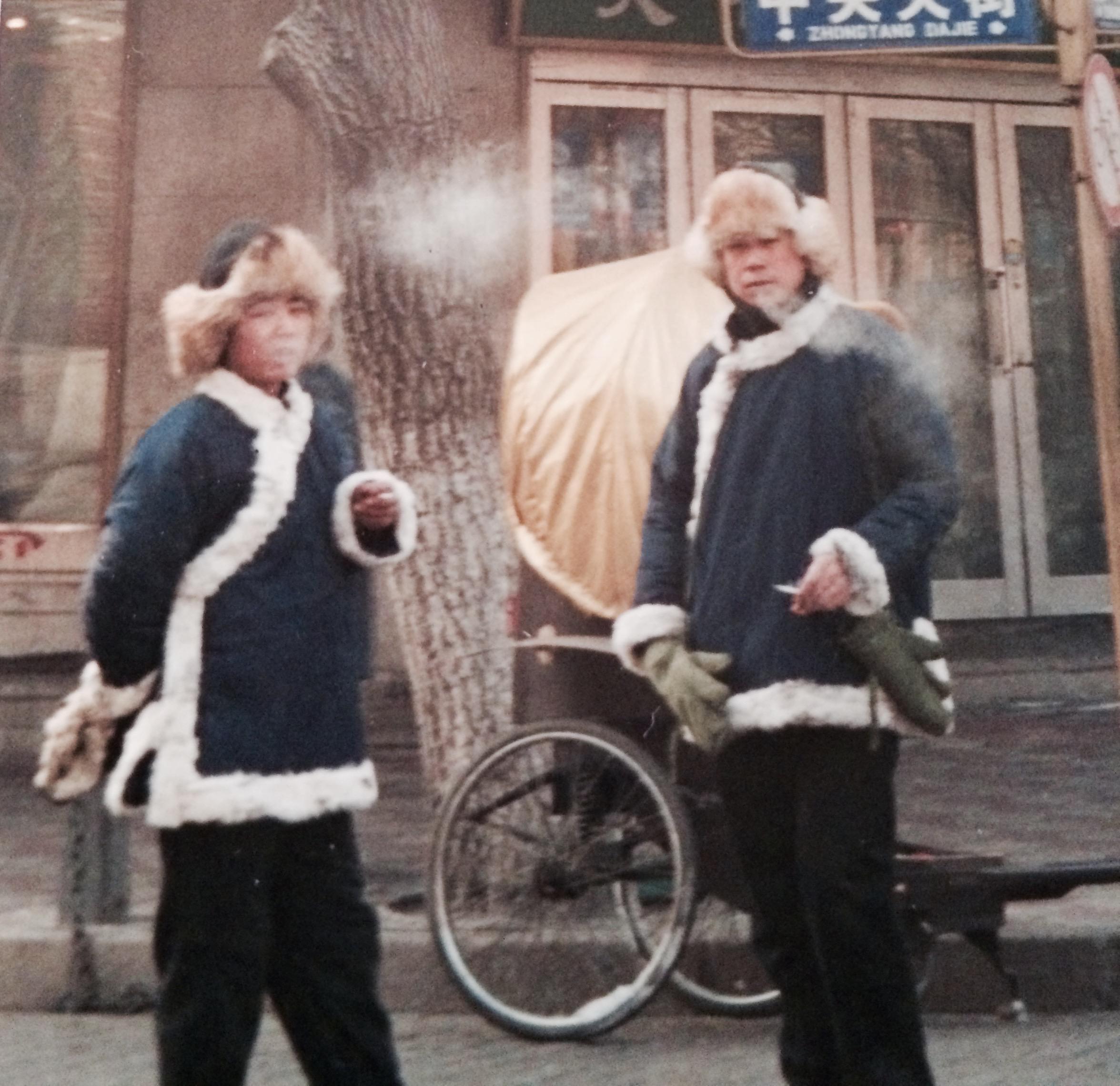 Harbin, winter, 2000