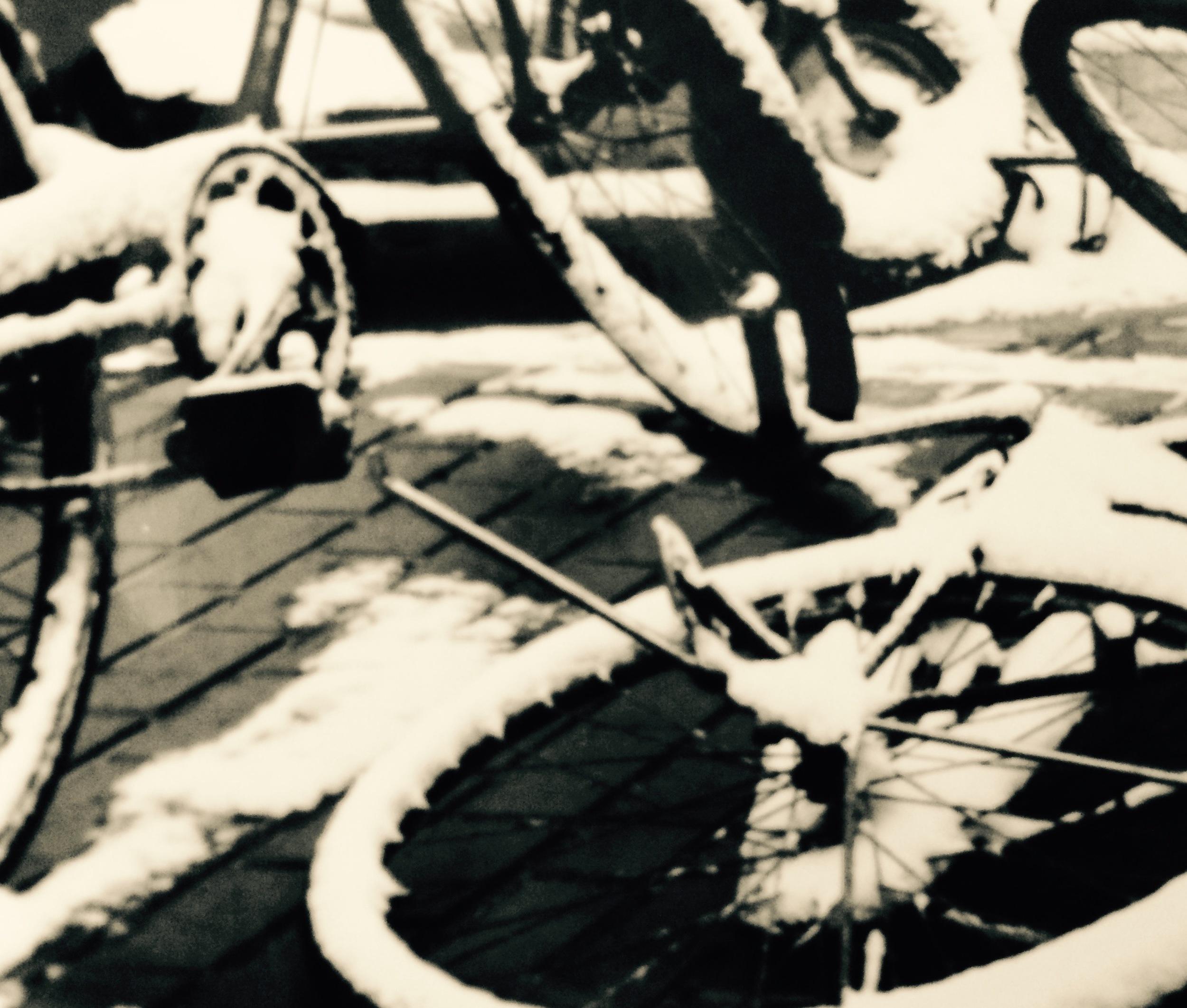 snow bike, Harbin, 2000