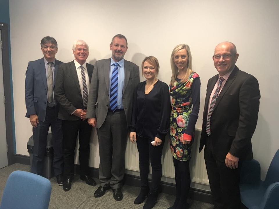 Stephen McNally (Southern Trust), Stanley Abraham (Links Counselling Service) Richard Pengelly (Dept of Health), Laura Wylie (Links Counselling service), Carla Lockhart (Upper Bann MLA), John Wilkinson (N.I Health Trust)