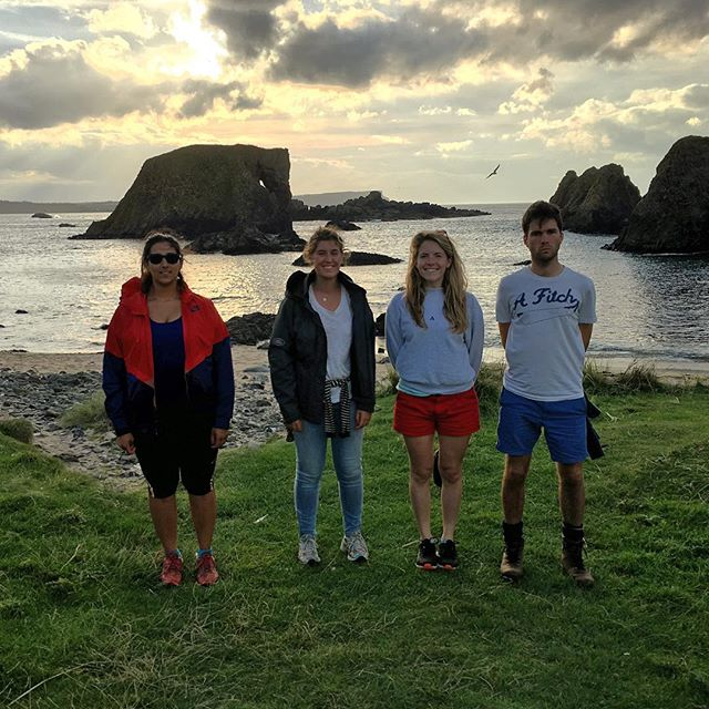 This week's guests headed to the Elephant beach for a sunset stroll. No prizes for guessing how the beach got its name... #bathlodgers #elephantbeach #ballintoyharbour #causewaycoast #costadelcauseway #antrimcoast #gameofthrones #discoverireland #loveireland #nature #sunset #igsunset #lifesabeach #seaside #nofilter #iphoneonly