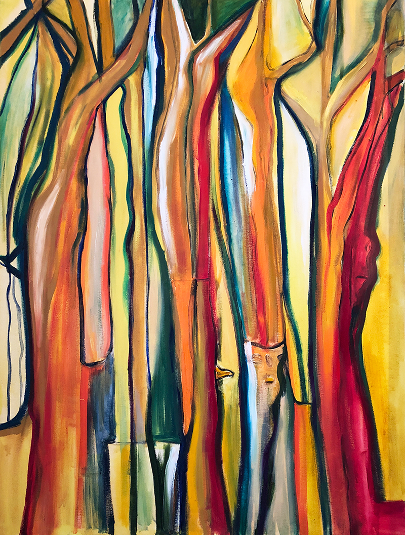 Rainbow Forest (76x102cm) Was £400 -  Now £300