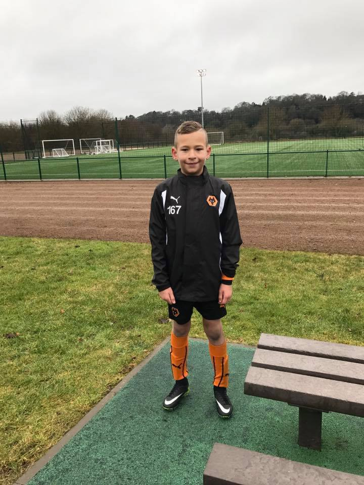 BRAYDEN CLARKE - AGE: 9CLUB: WOLVERHAMPTON WANDERERS FCPOSITION: DEFENCE, MIDFIELDSTARTED IPDA: 3RD NOVEMBER 2015SIGNED FOR ACADEMY: 1ST JANUARY 2017