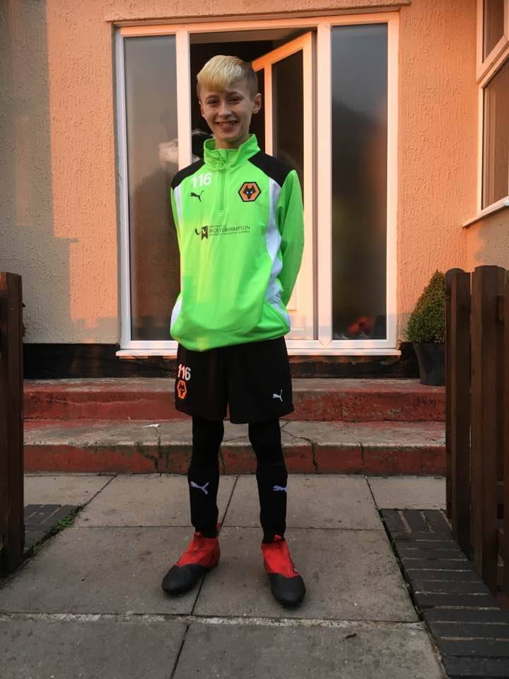 KEGAN REDFERN - AGE: 11CLUB: WOLVERHAMPTON WANDERERS FCPOSITION: FORWARDSTARTED IPDA: 5TH NOVERMBER 2015SIGNED FOR ACADEMY: 23RD FEBRUARY 2017