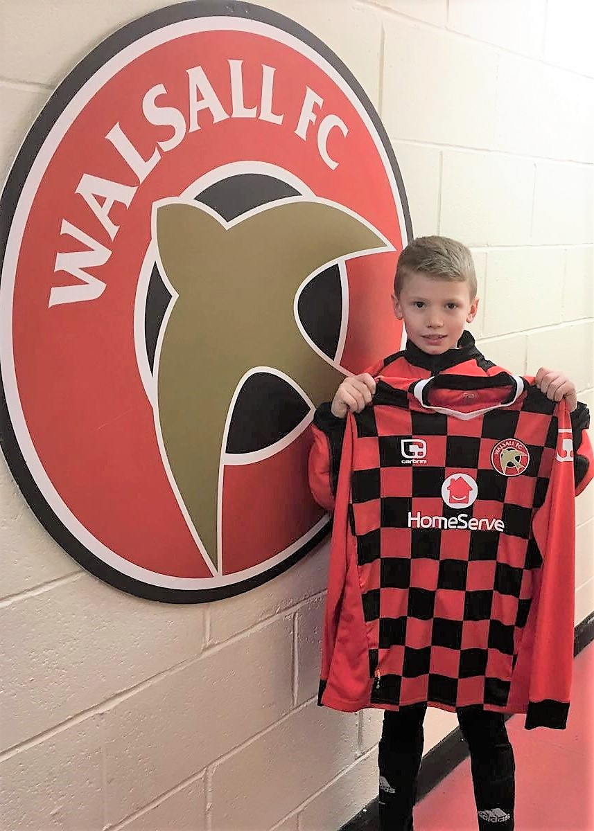 WILLIAM HETHERIDGE - AGE: 8CLUB: WALSALL FCPOSITION: MIDFIELDSTARTED IPDA: 15TH APRIL 2016SIGNED FOR ACADEMY: 15TH FEBRUARY 2017