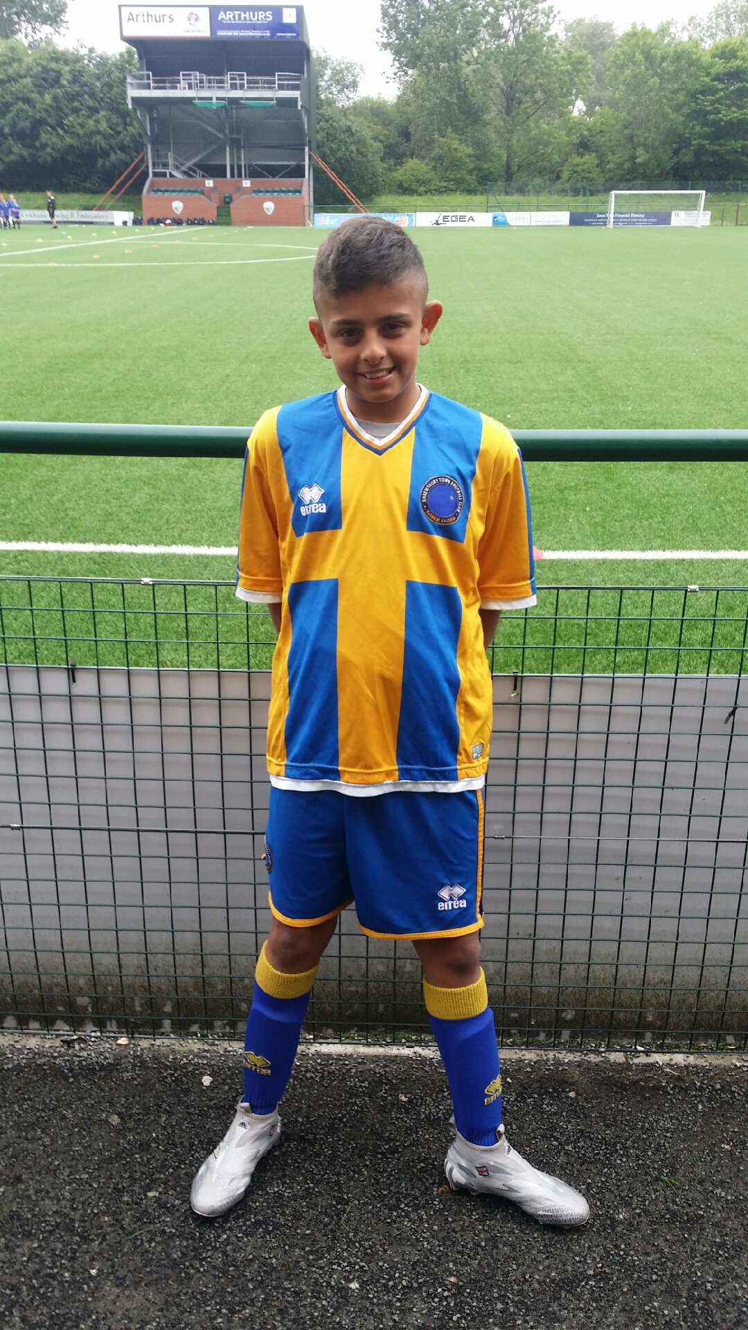 CALUM PRIEST - AGE: 12CLUB: SHREWSBURY FCPOSITION: MIDFIELDSTARTED IPDA: 12TH APRIL 2016SIGNED FOR ACADEMY: 12TH MAY 2017
