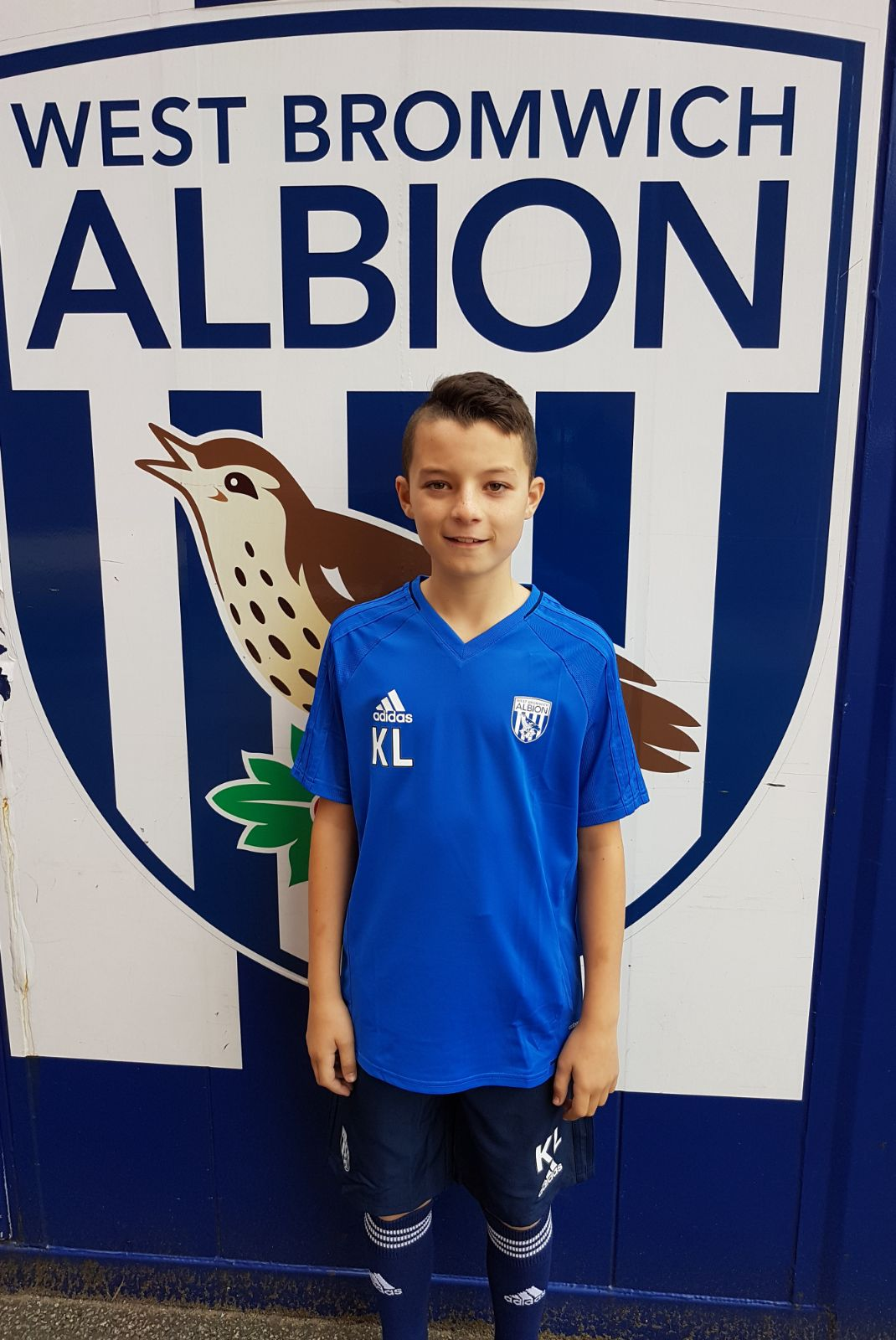 KYLE LANG - AGE: 11CLUB: WEST BROMWICH ALBION FCPOSITION: CENTRAL DEFENDERSTARTED IPDA: 7TH NOVEMBER 2016SIGNED FOR ACADEMY: 26TH SEPTEMBER 2017