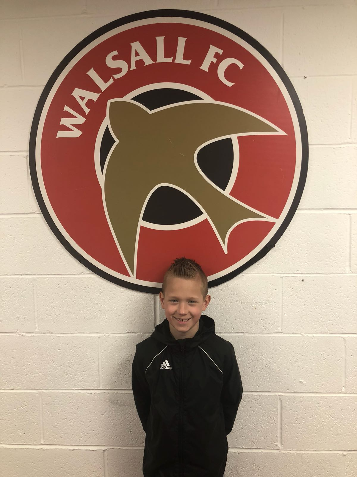 HARRY ROGERS - AGE: 8CLUB: WALSALL FCPOSITION: MIDFIELD / FORWARDSTARTED IPDA: 8TH SEPTEMBER 2016SIGNED FOR ACADEMY: 23RD APRIL 2018