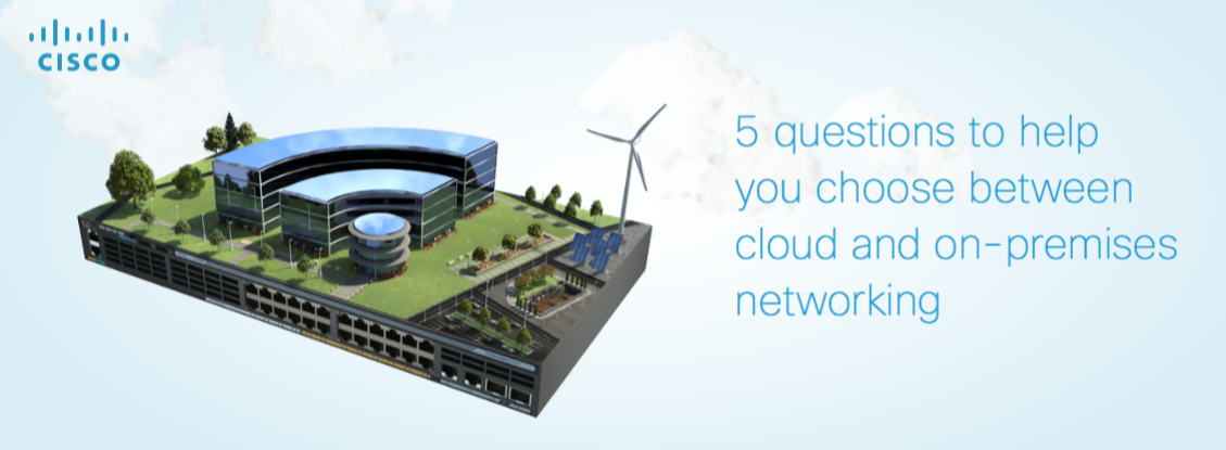 Cloud-On-Premise-Networking