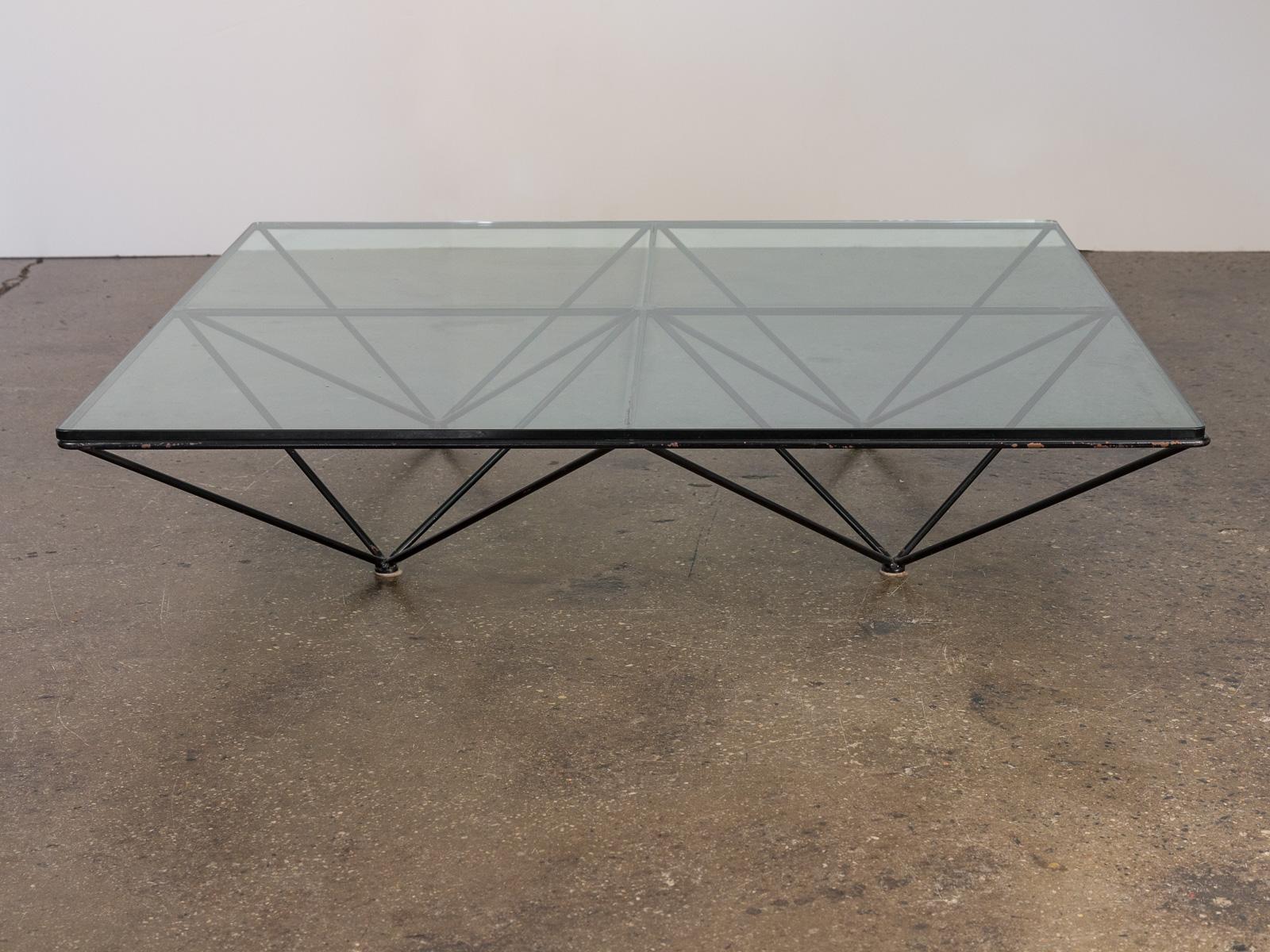 Paolo Piva Alanda Glass Coffee Table