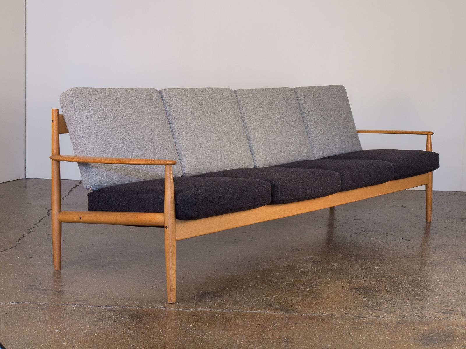 Grete Jalk Four Seat Sofa