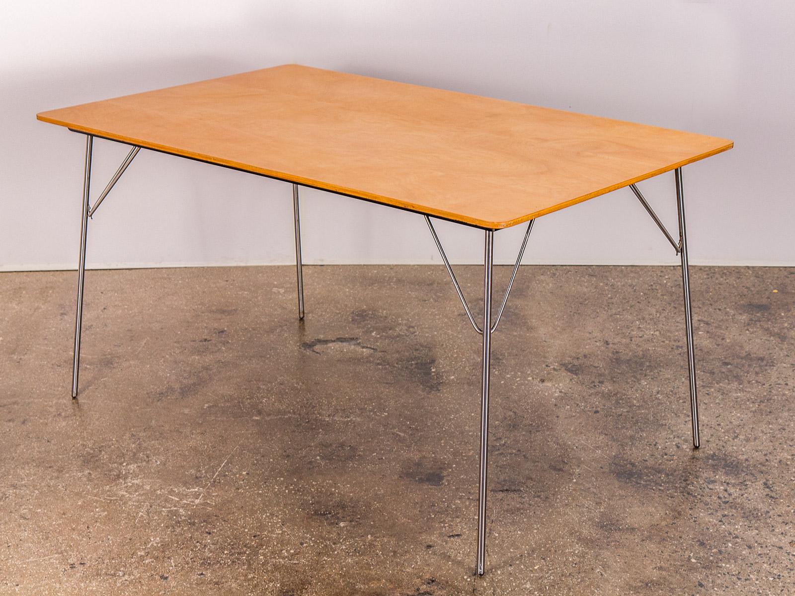 Eames DTM Birch Folding Table