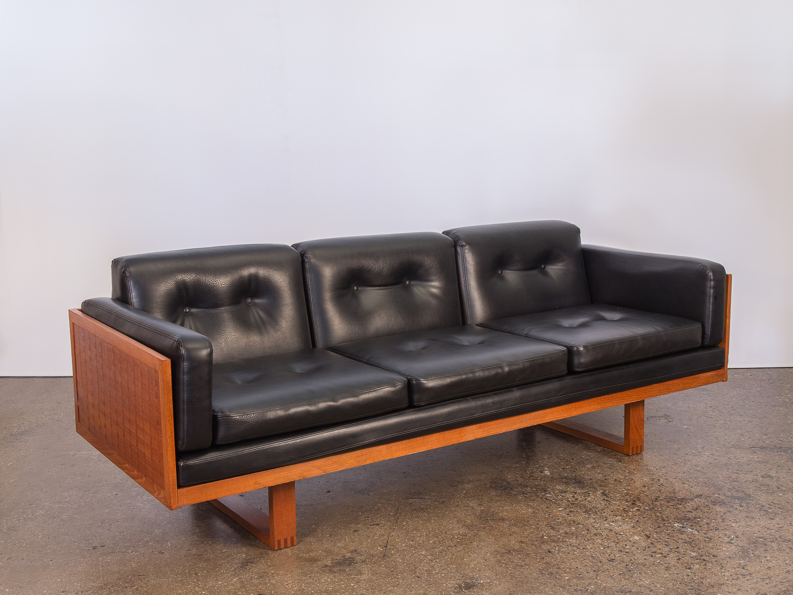 Poul Cadovius Woven Sofa