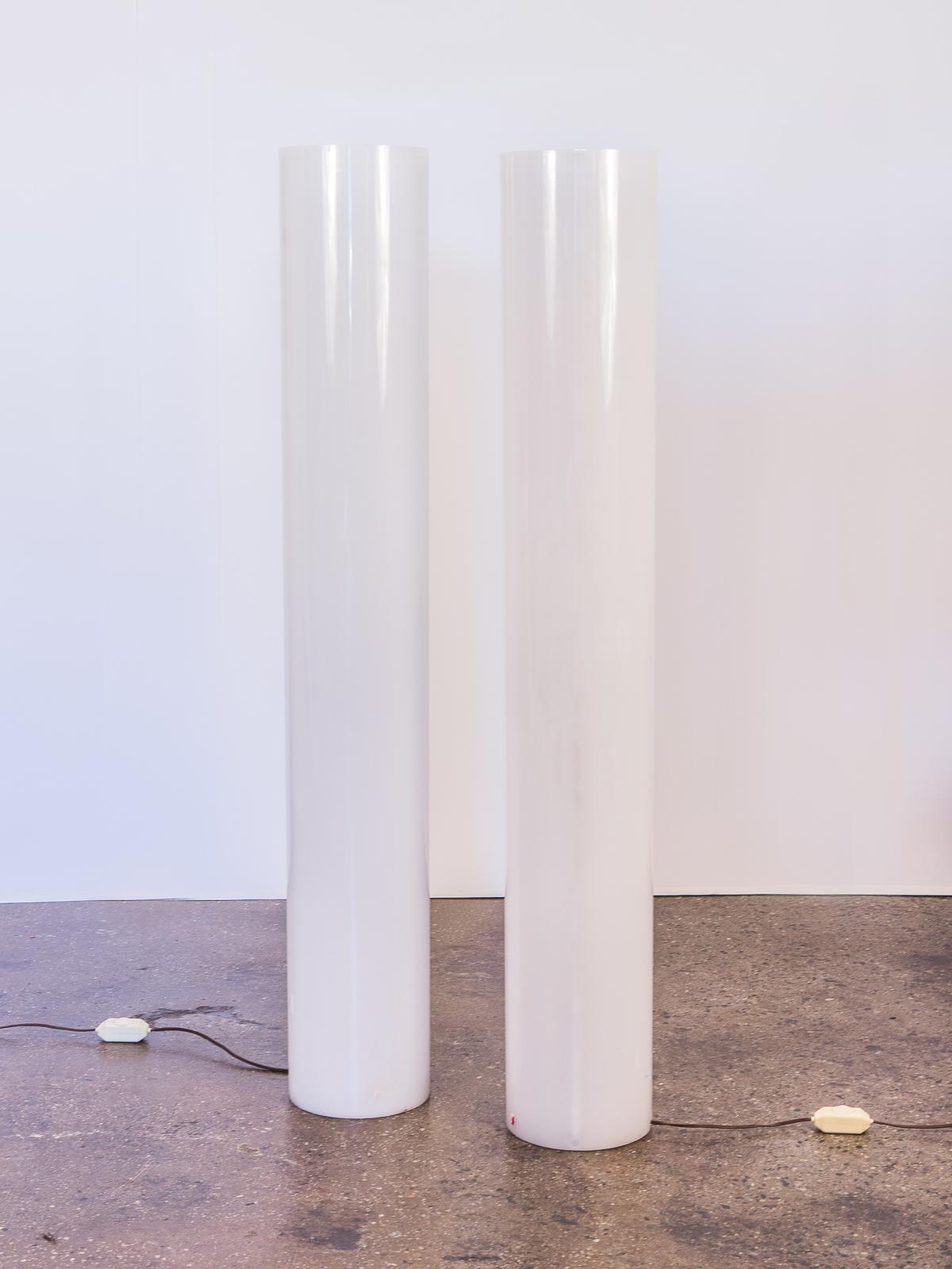 Paul Mayen Column Floor Lamps