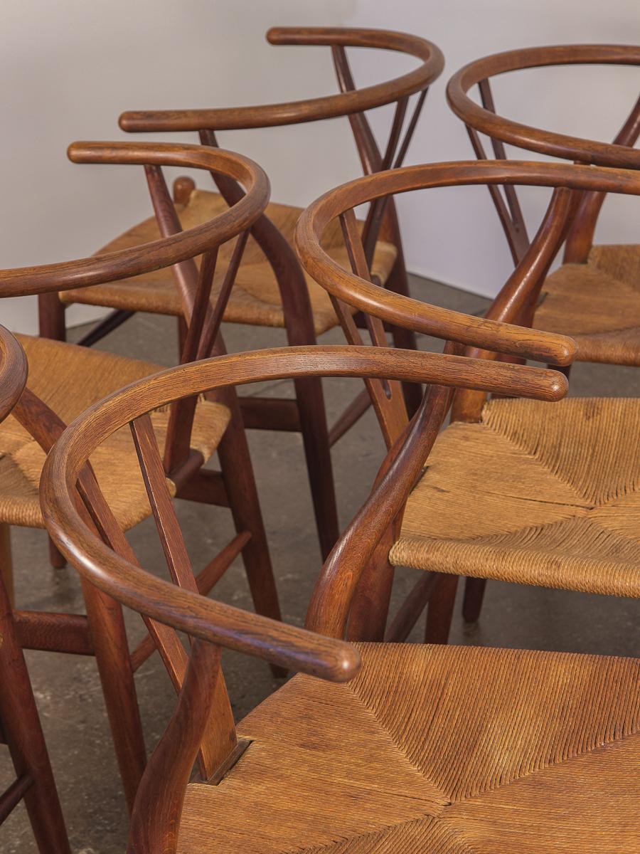 Hans Wegner CH-24 Wishbone Chairs