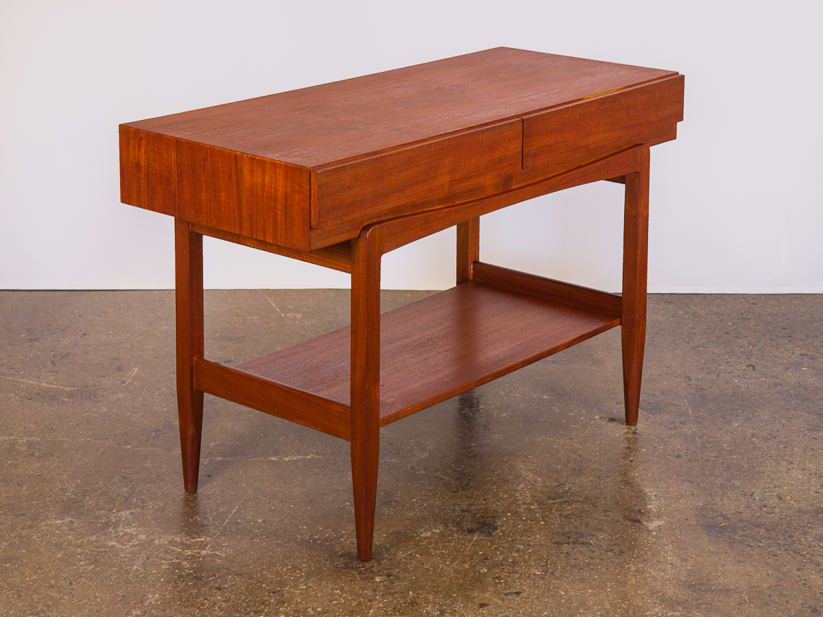 Picture of: Ib Kofod Larsen Teak Console For Faarup Oam