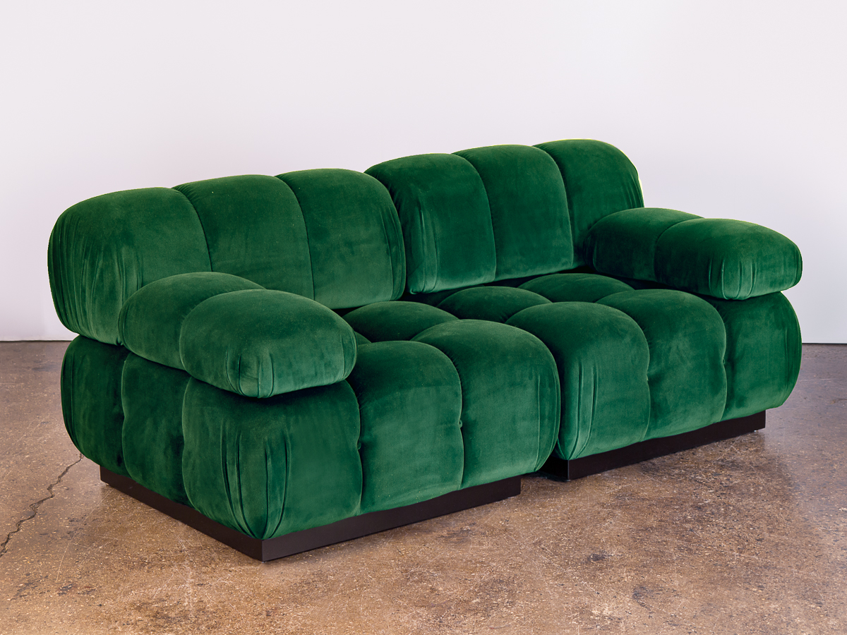 OAM Design Studio Modern Tufted Loveseat