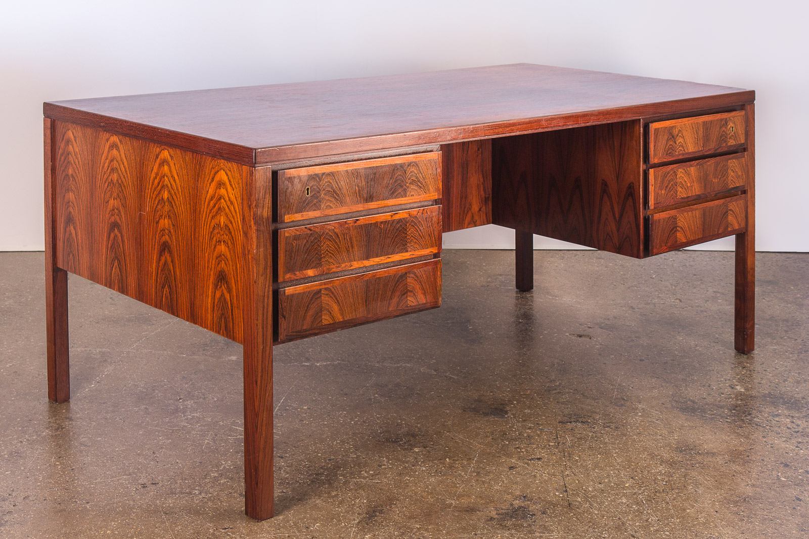Omann Gunni Rosewood Executive Desk